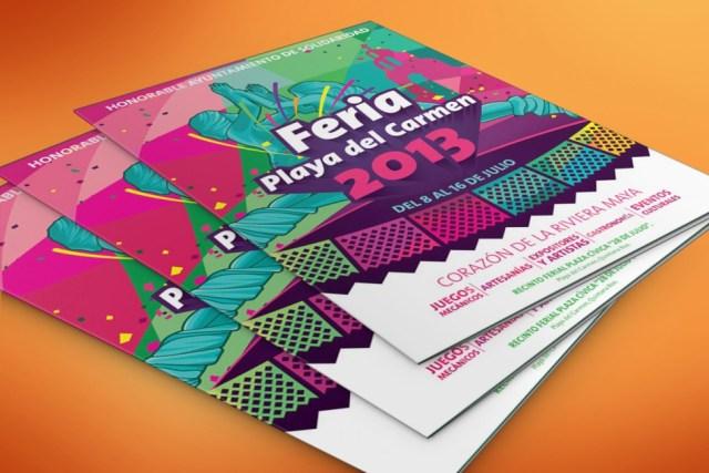 Feria Playa del Carmen 2013 - folder