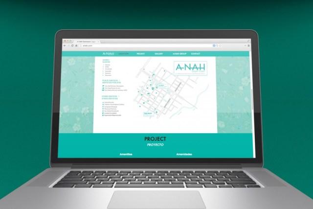 A-Nah Downtown - Sitio web