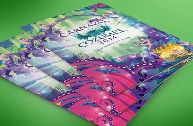 Folder Carnaval Cozumel 2014