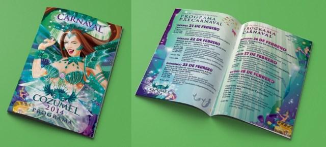 Programa Carnaval Cozumel 2014