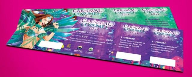 Boletos Carnaval Cozumel 2014