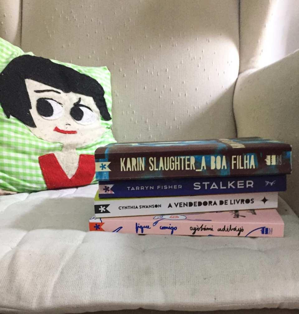 Livros de abril, maio, junho e julho da Tag Inéditos, clube de assinaturas de livros.
