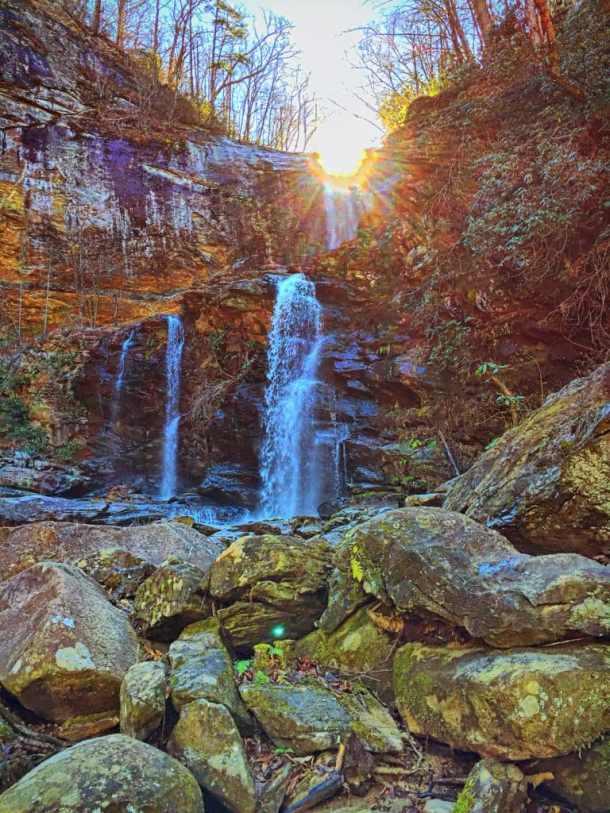 High Falls, Glenville, NC