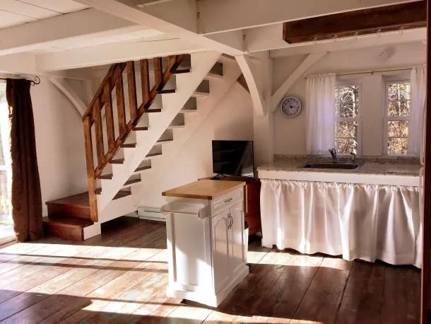 Glenville NC rustic cottage kitchen