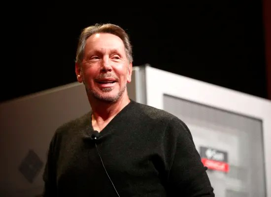 Larry Allison.  Oracle has announced it will move its headquarters to Austin Texas / Photo: Reuters, Stephen Lam