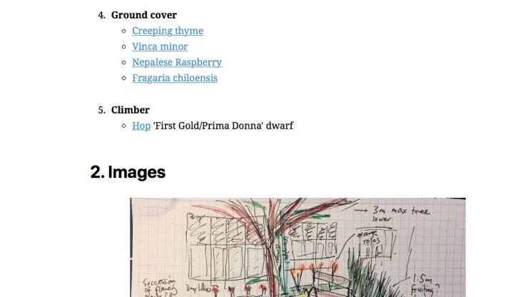 Screenshot der von Simplenote veröffentlichten Webseite