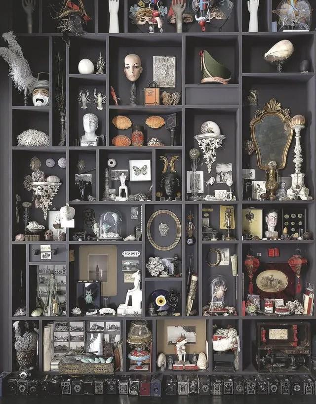 Créer un cabinet de curiosité