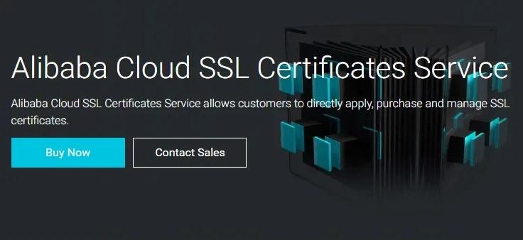 Alibaba Cloud SSL Certificates Service
