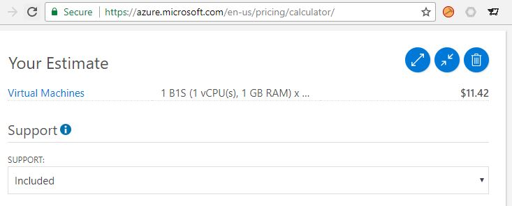 Azure Virtual Machine Pricing