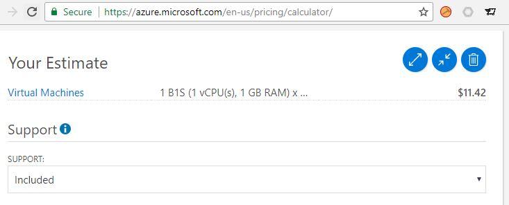Azure Virtual Machine Pricing