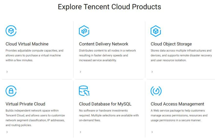 GET MORE WITH TENCENT CLOUD