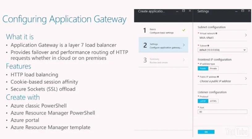 Configuring Application Gateway