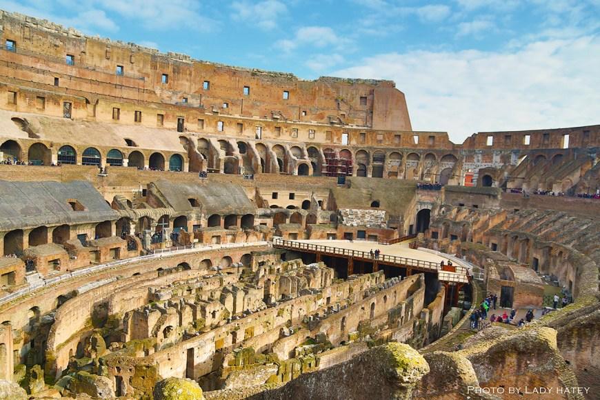 inner colosseum 彷彿可見Gladiator 的亡靈