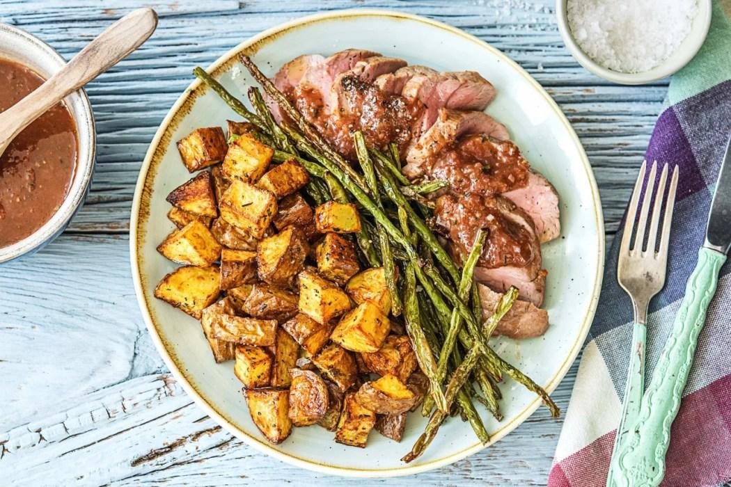 2017 Figgy-Balsamic-Pork-year in review-HelloFresh-2017