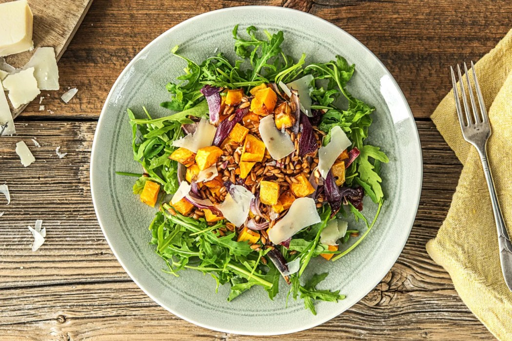easy butternut squash recipes-HelloFresh-No-Brainer-Grain-Salad