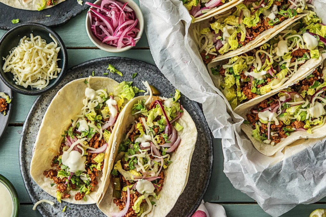 easy Mexican recipes-One-Pan-Pork-Carnitas-Tacos-HelloFresh