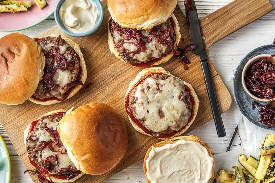 Melty Monterey Jack Burgers-grilling recipes-HelloFresh-burgers
