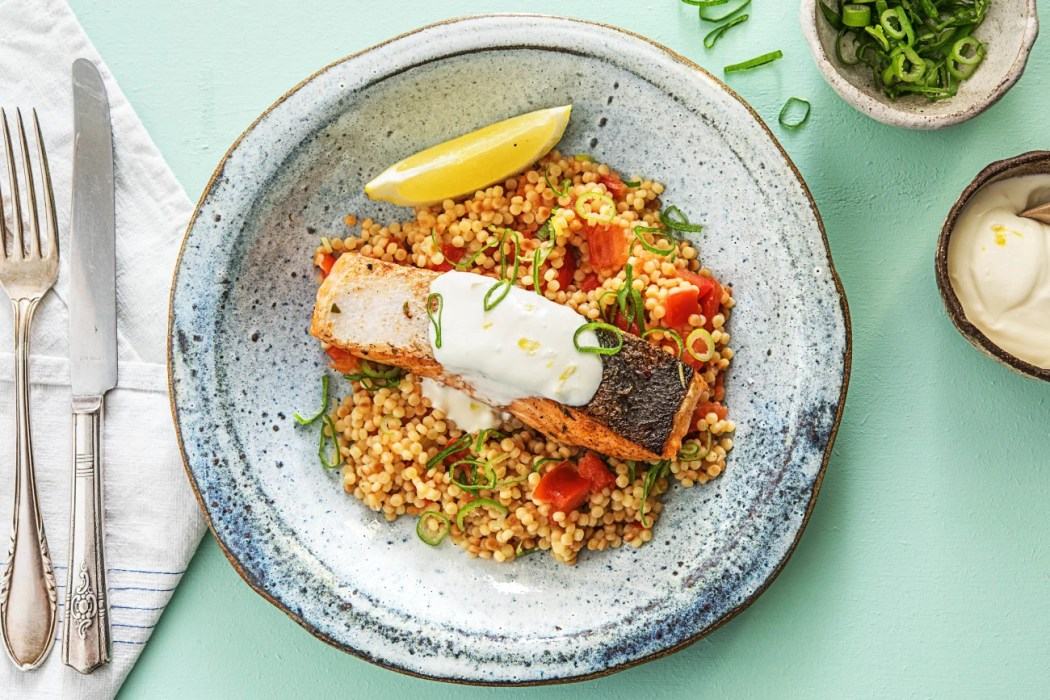 Creamy Lemon Salmon-grilling recipes-HelloFresh