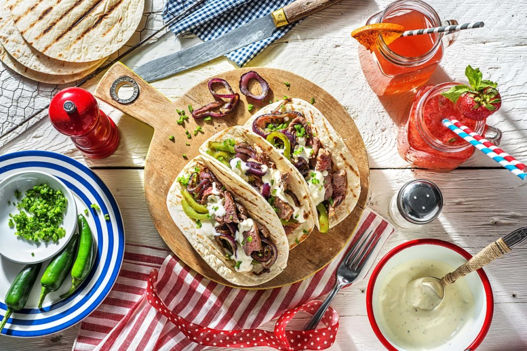 Steak-Fajitas-how to grill-HelloFresh