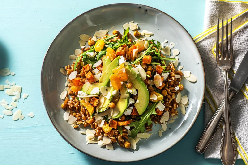 Sweet Potato Sunshine Bowl-how to roast chickpeas-HelloFresh