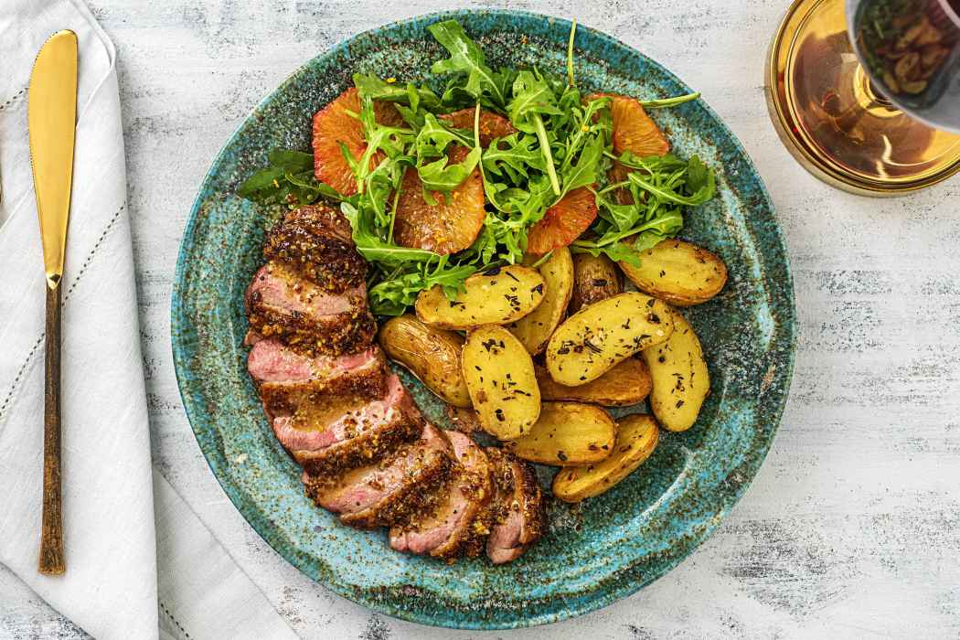 maple syrup recipes-duck-HelloFresh
