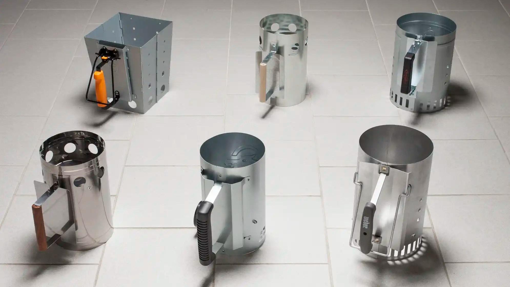 testing chimney starters
