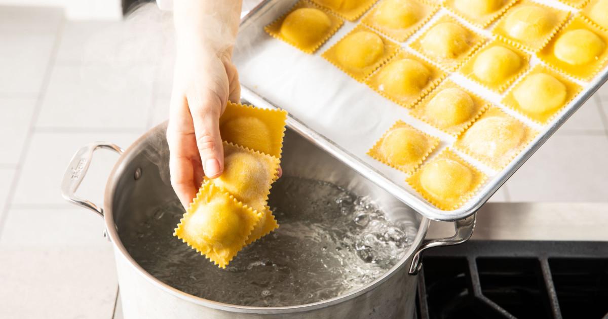 hand rolled ravioli cook s illustrated