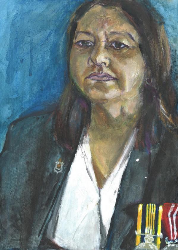 Portrait of Helen Burgess