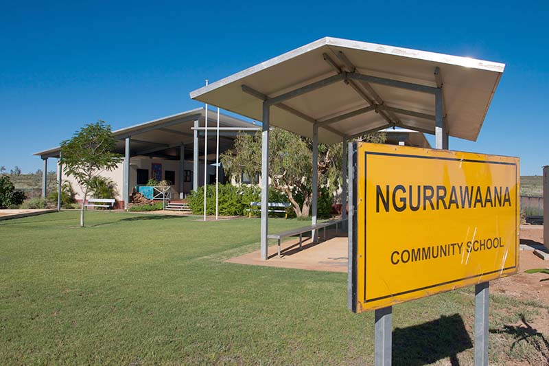 Ngurrawaana community school