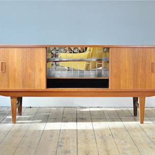Characterful Teak Sideboard : Living room by Forest London