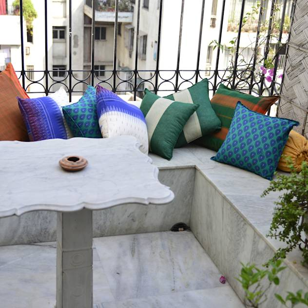 Diwali home decoration ideas : Ethnic cushion covers
