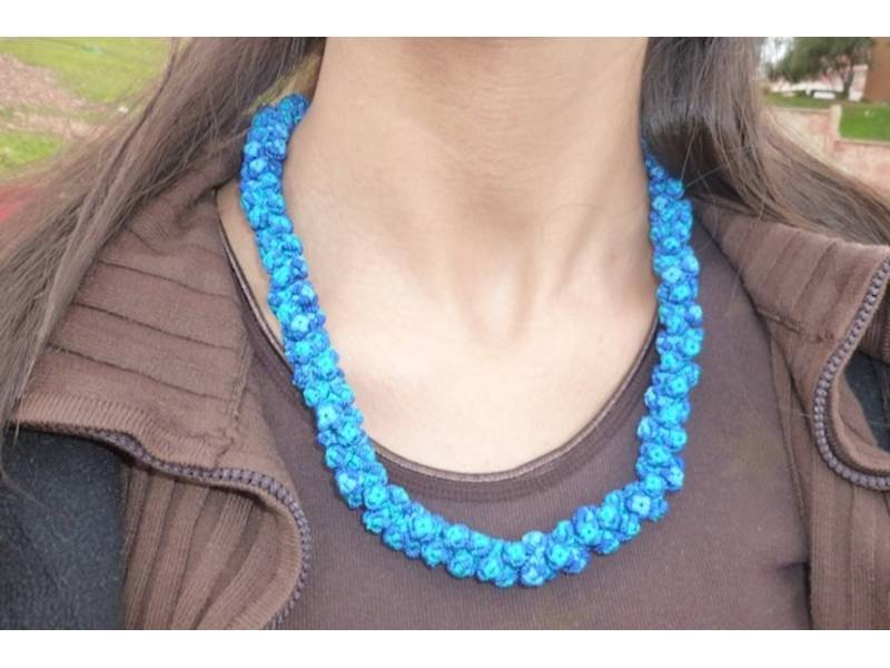 Necklace - Cluster by Khenifra Women's Cooperative Jewelry