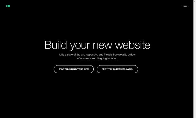 Homepage IM Creator