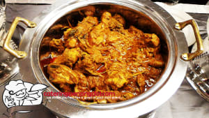 Dinner Event for a Birthday Party Ayam Masak Merah