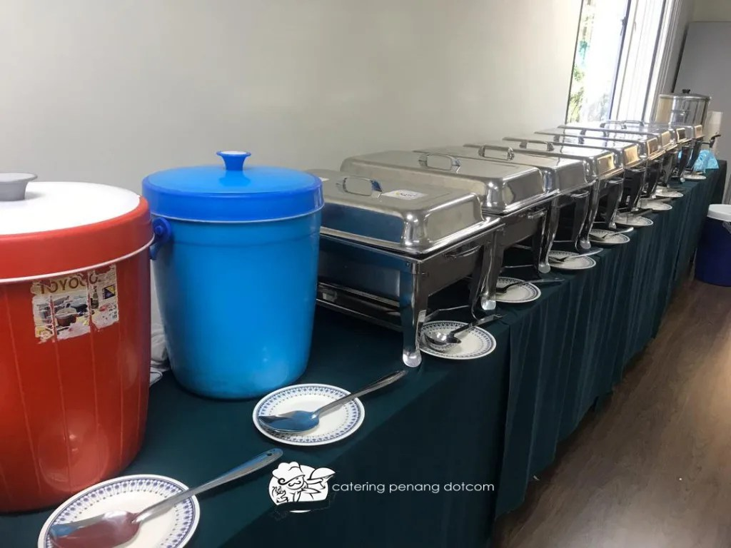 A simple catering setup