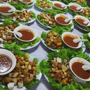 800 pax dinner Cucur Udang Set