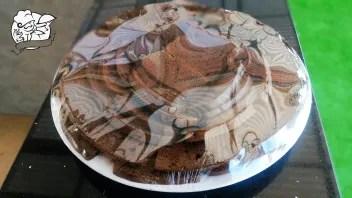 Dinner at Armenian Hotel Chocolate Cake