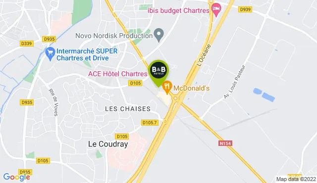 b b hotel chartres le coudray 2 sterne