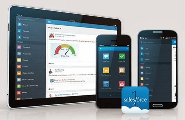 best b2b mobile app - salesforce