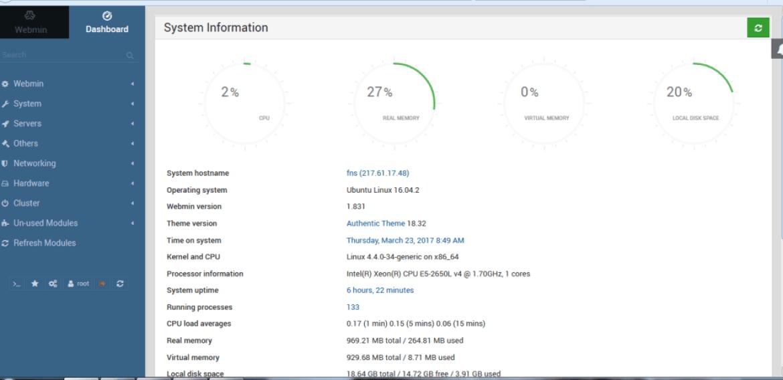 Cara Mudah Install Webmin di Ubuntu 16.04