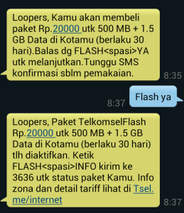 Paket Internet Telkomsel Murah 2gb 20k