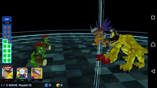 DigimonLinks Membantu Teman Bertarung