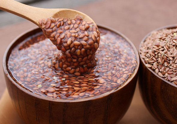 Biji rami kaya akan asam lemak Omega-3