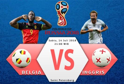 Belgia vs Inggris - Piala Dunia 2018 Perebutan Tempat Ketiga