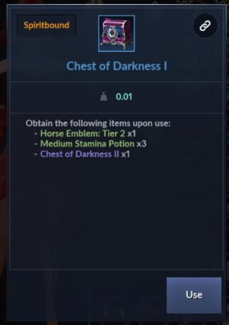 Chest Of Darkness Box - BDM