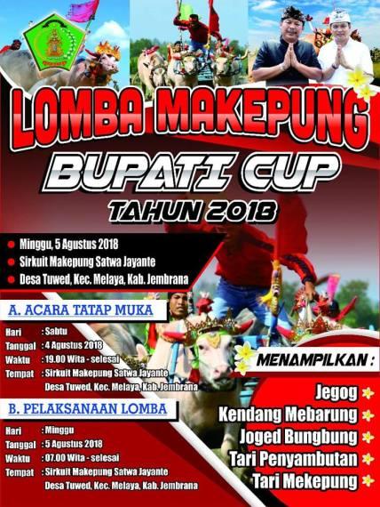 Lomba Makepung Bupati Cup 2018