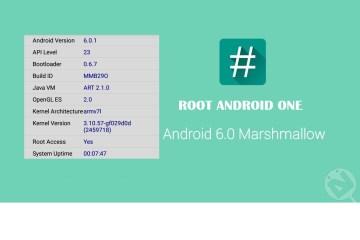 Cara Gampang Root Android One Marshmallow 6.0.x
