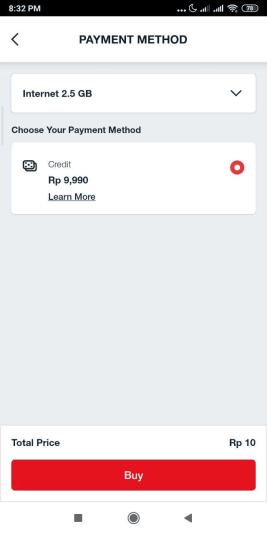 Paket Murah Telkomsel 2.5 GB Hanya Rp 10