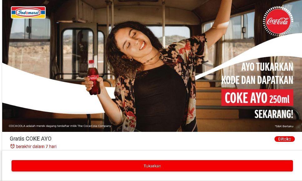 promo Coke Ayo Gratis Coca-Cola