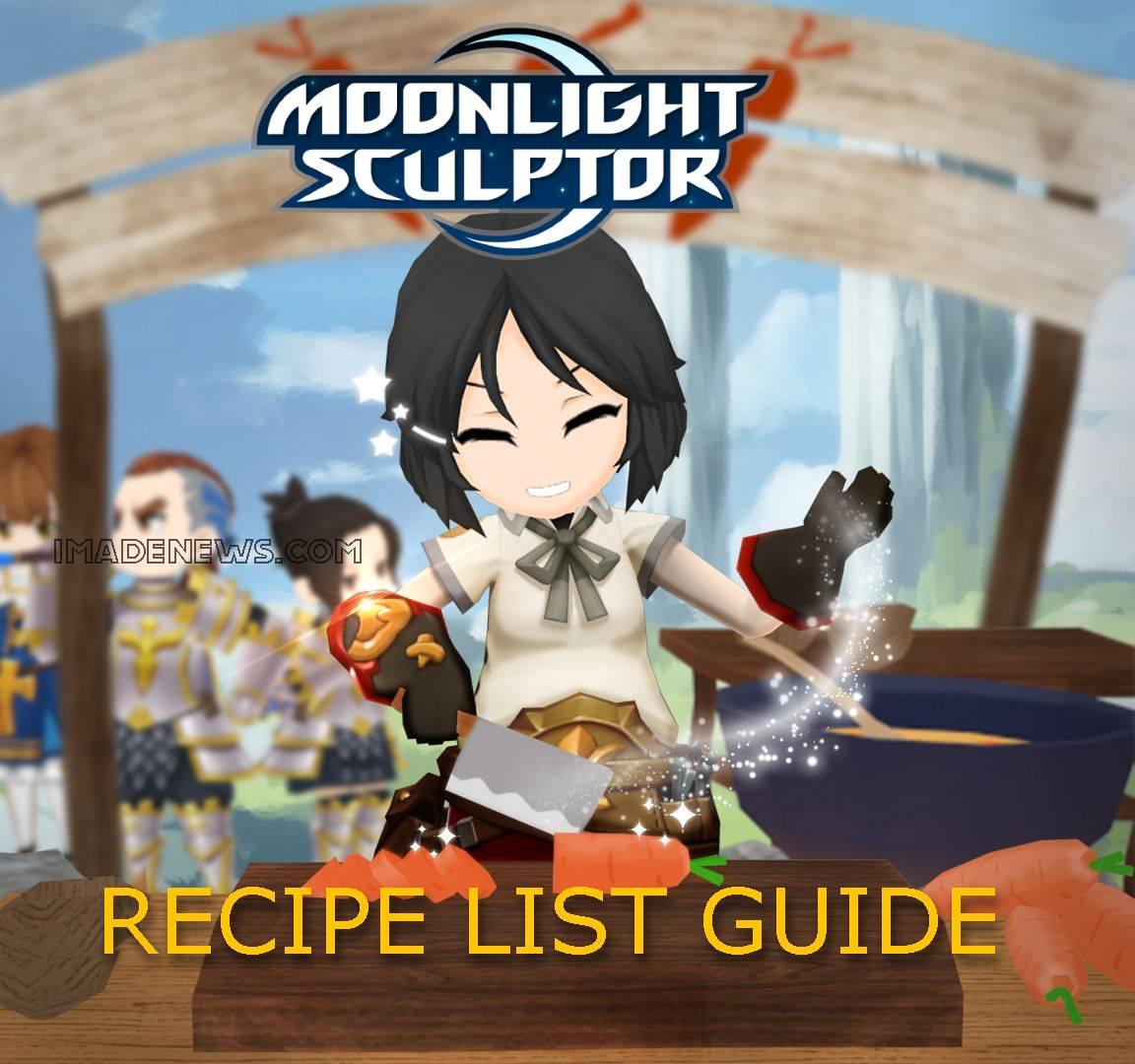 Moonlight Sculptor Recipe